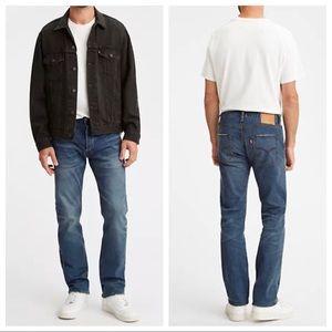 LEVI'S 501 Medium Wash Straight Leg Jeans 40x32